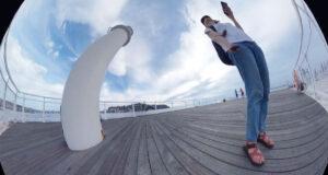 THETAで撮影した江ノ島の写真